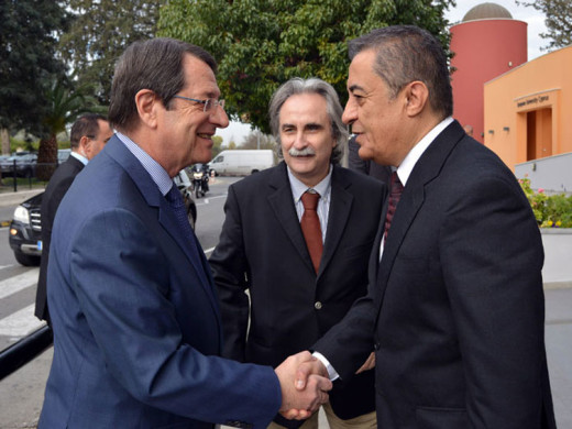 President of Cyprus Praises the top quality of the EUC